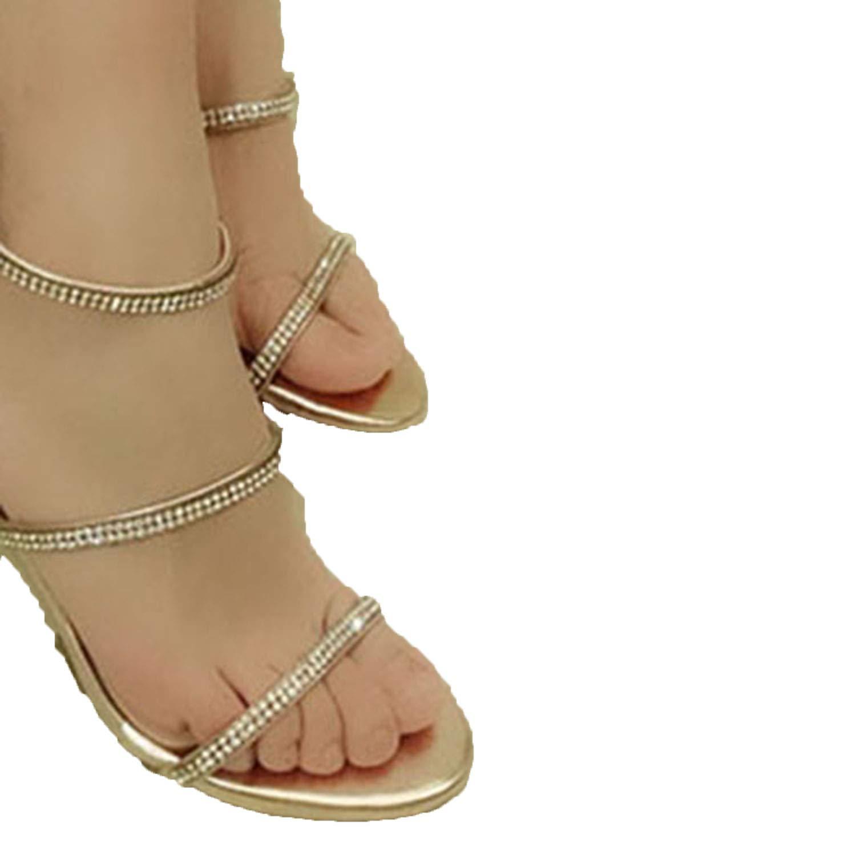 messieurs et mesdames designer de chaussures sandales sandales sandales à talon à cristal noir extrême aspect élégant premier lot de clients à an4512 directe des entreprises f8fcb8