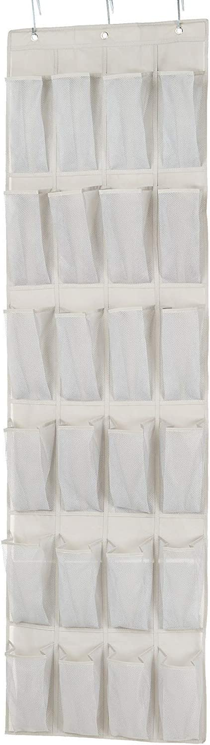 AmazonBasics 24-Pair Over-the-Door Medium-Size Shoe Organizer