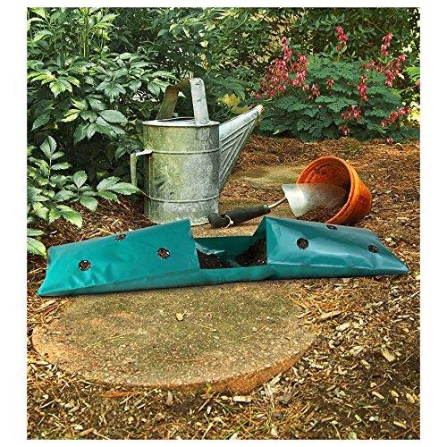 garden saddlebag hanging planter