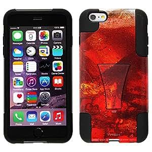 Trek Hybrid Stand Case for Apple iPhone 6 Plus - Glass Cherry Soda