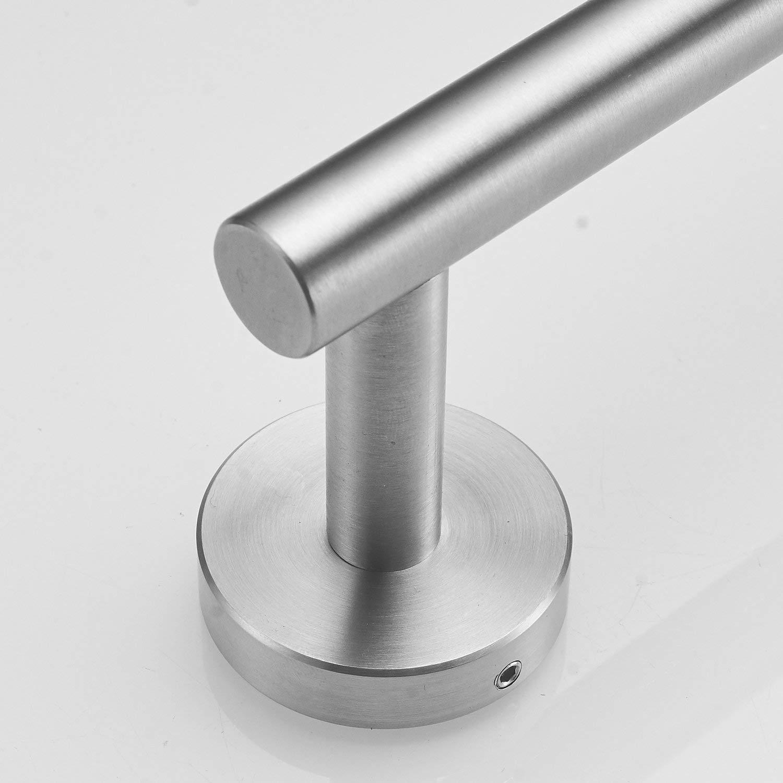 Rouleau de papier toilette en acier inoxydable 304 bross/é dor/é pour salle de bain