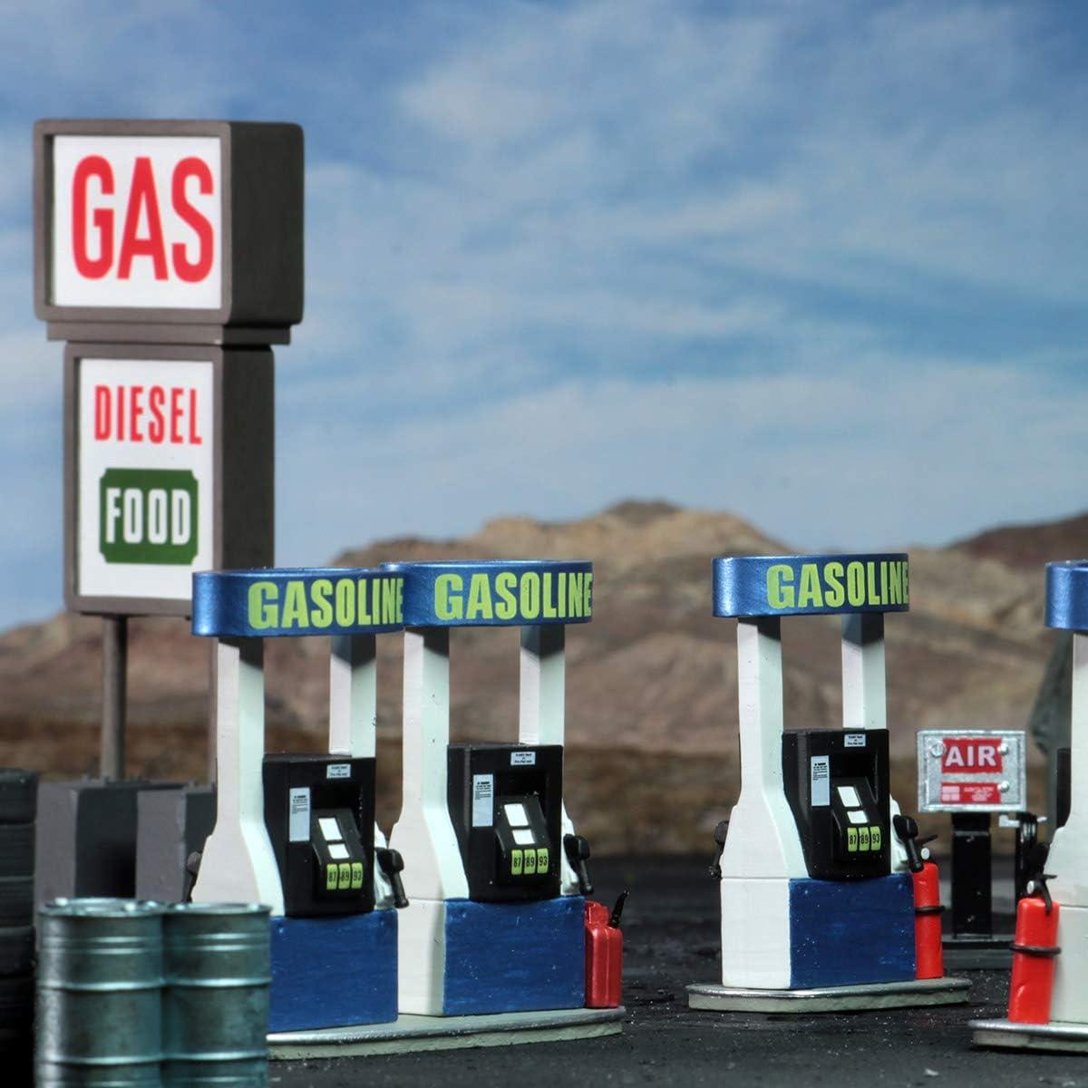 WizKids 4D Setting Gas Station