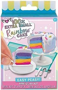 Fashion Angels Easy Peasy 'Mini Clay Kit' Rainbow Cake