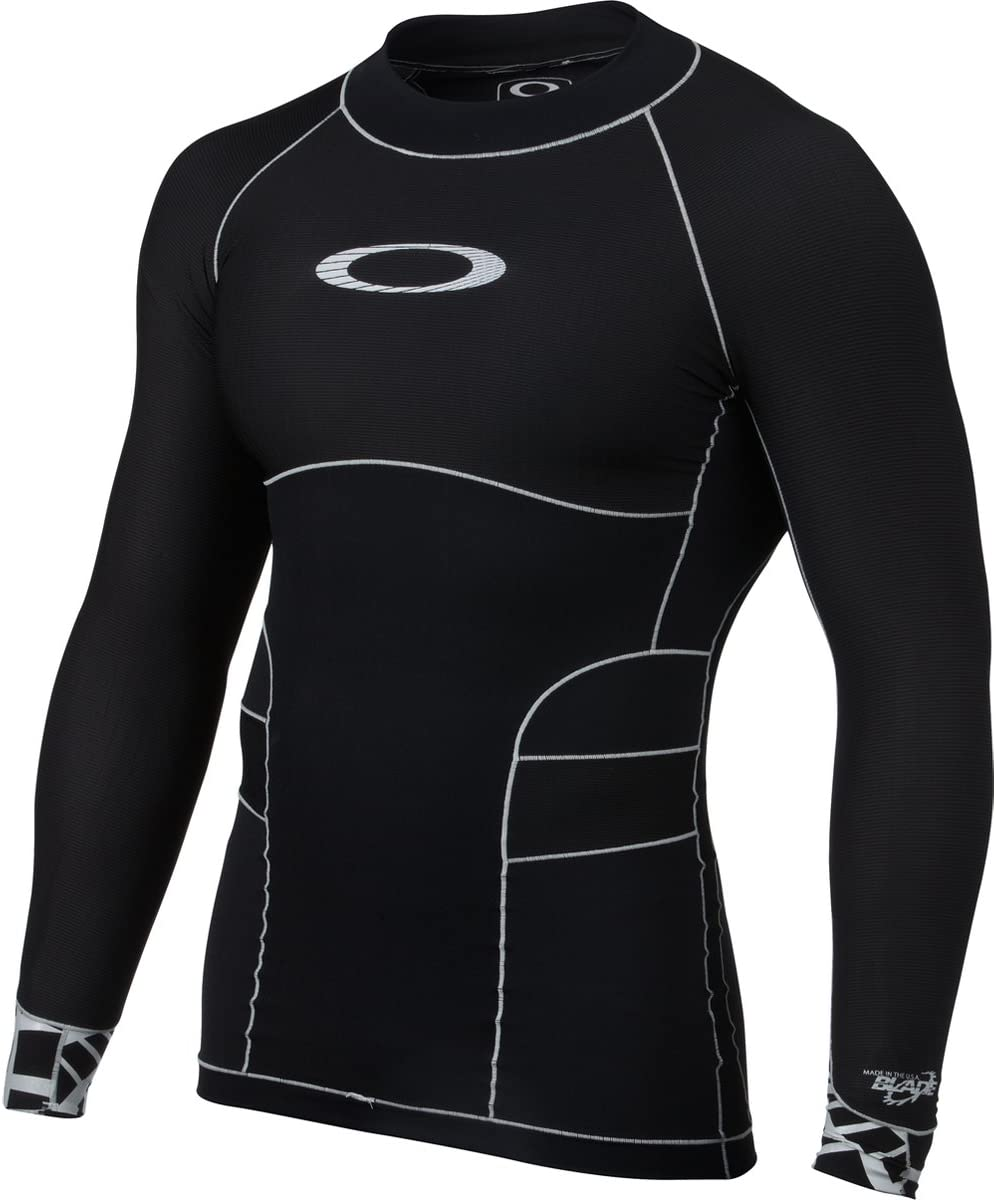 Oakley Mens Blade Compression Top Rashguard Wetsuit