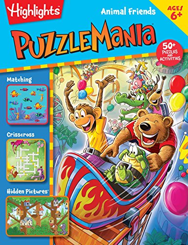 (Animal Friends (HighlightsTM Puzzlemania® Activity)
