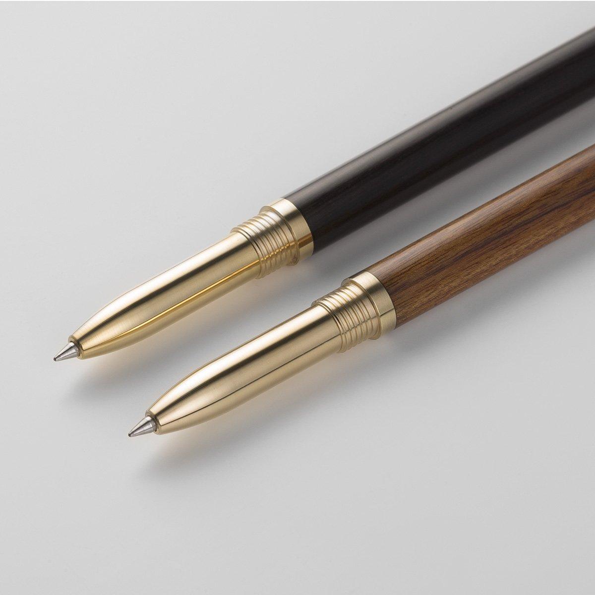 Ideale per un Regalo! Penna Roller Soddisfazione Garantita Premium Metallo Legno Penna a Sfera