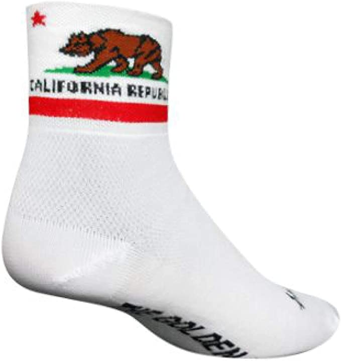 "SockGuy Classic 3/"" Hamburger L//XL Cycling//Running Socks"