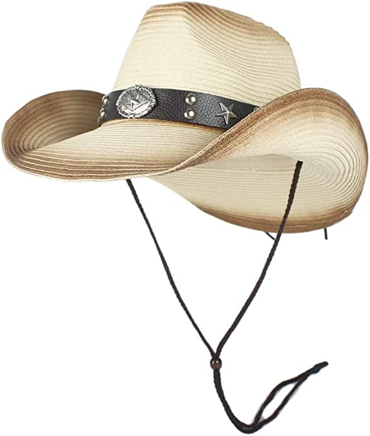 Sombrero de Paja Sombrero Adulto Para Hombre Smiffys Fancy Dress Costume Sombrero