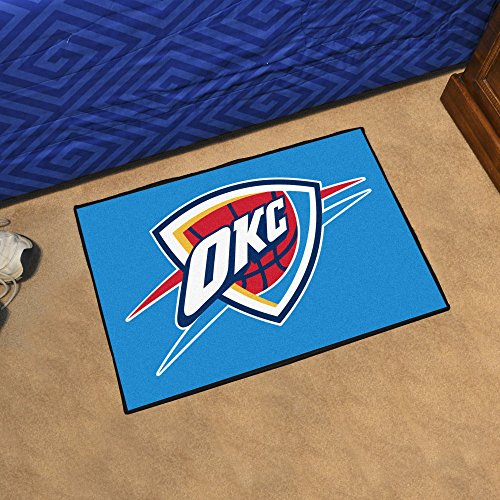 Fanmats NBA - Oklahoma City Thunder Starter Rug 19