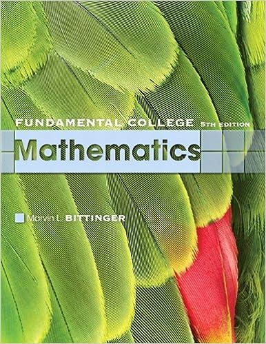 Fundamental College Mathematics (5th Edition)