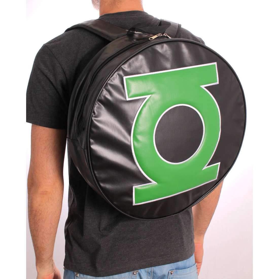 Grün Lantern Laterne grün, groß rund, Logo Rückseite Pack