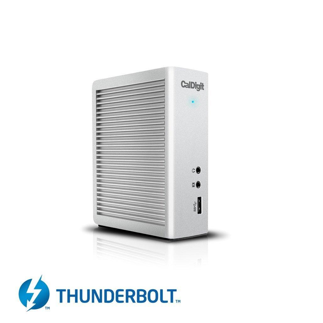 TS3 Docking Station Thunderbolt 3 di CalDigit con cavo 0.5m - Ricarica 85W, USB 3.1, eSATA, DisplayPort, LAN, Audio per MacBook Pro 2016, MacBook Pro 2017, iMac Pro 2017, iMac 2017, MacBook 2017, Thunderbolt 3 PCs