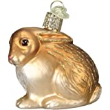 Old World Christmas Cottontail Bunny Glass Blown Ornament