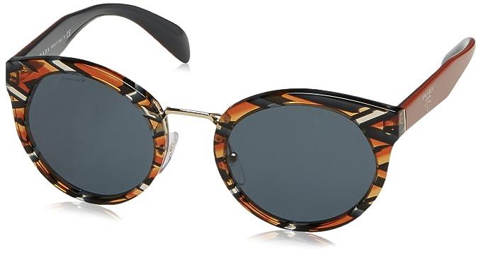 7896f15e31b Image Unavailable. Image not available for. Colour  Sunglasses Prada PR 5  TS VAN9K1 SHEAVES GREY ORANGE