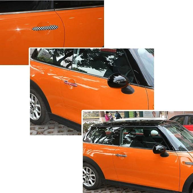 QIDIAN - Pegatinas para tirador de puerta de Mini Cooper F54 F55 F56 F57 F60 para Mini Countryman F60 Clubman para accesorios Mini F56: Amazon.es: Coche y ...