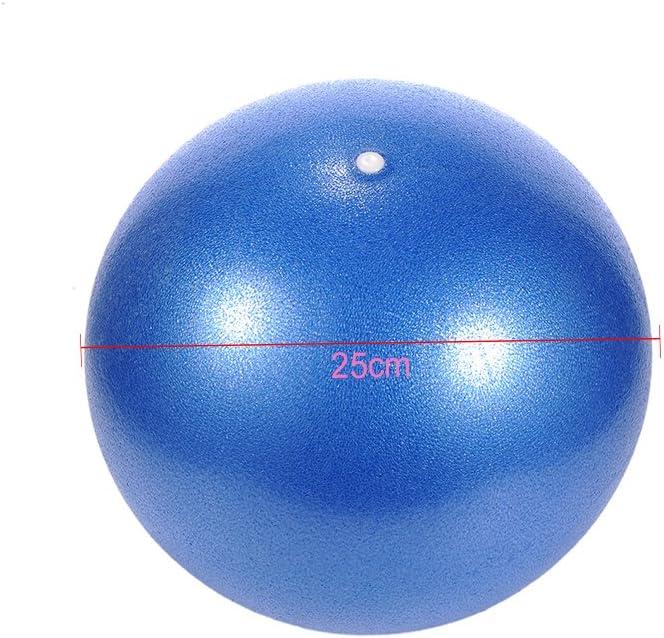 Hjuns - Pelota para ejercicio de 25 cm, para Yoga o pilates, rosa ...