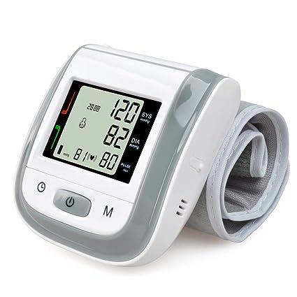 Huapa Tensiómetro de muñeca,Tensiómetro de brazo digital con detección del detección de movimiento corporal
