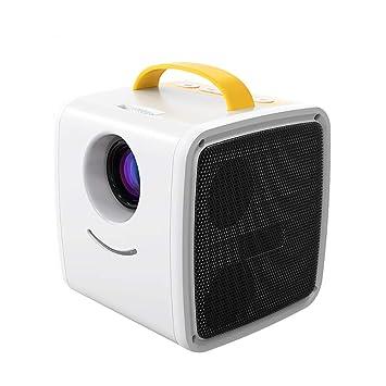 H&T Mini proyector, proyector LED portátil Pocket Pico Projector ...