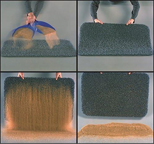 AstroTurf 10187308FG 40 x 60 cm Classic High Performance Outdoor Scraper Doormat - Sliver Grey