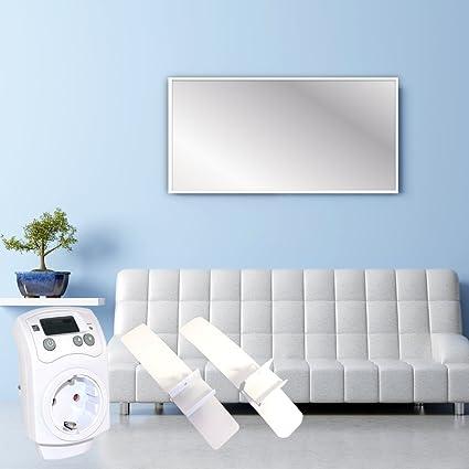 Panel de calefacción – Calefactor de infrarrojos eléctrico Calefacción de calefacción por infrarrojos 550 W +