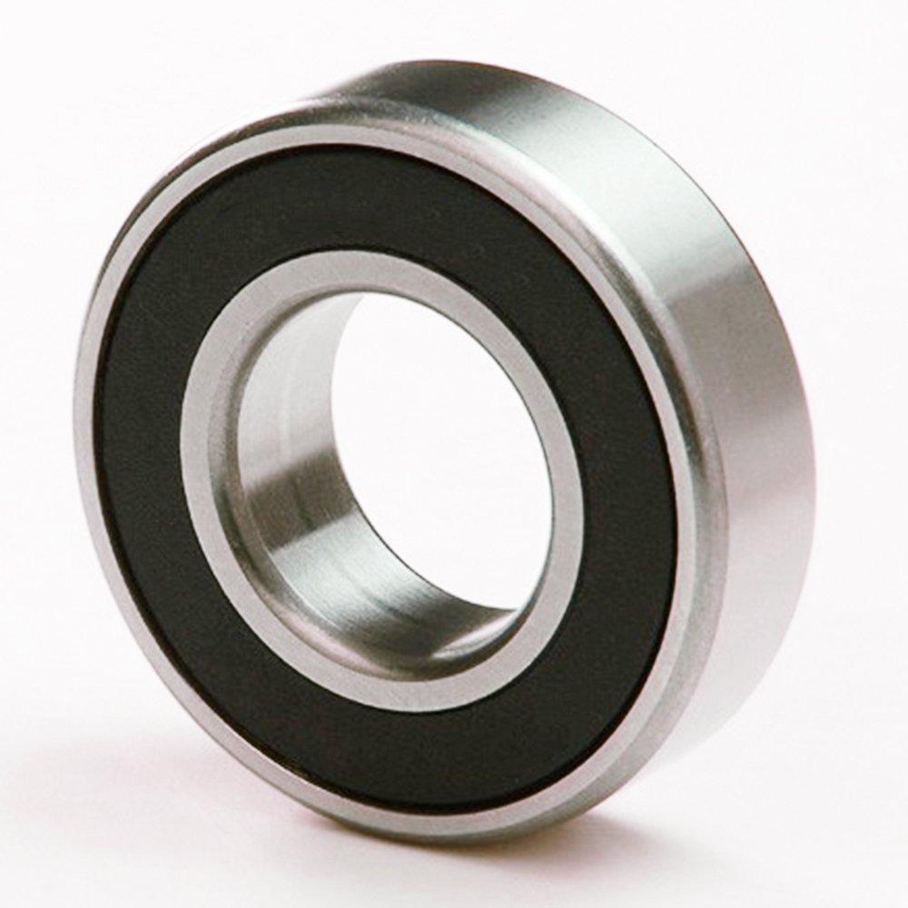 1pcs Rubber Sealed Bearings 6000-2RS Hybrid Ceramic Ball Si3N4 10x26x8mm