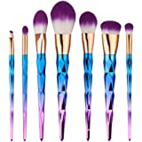 Makeup Brush Set,SMTSMT 2017 Super Soft 6PCS Cosmetic Eyeshadow Brush-Purple