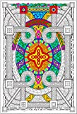 Stuff2Color Geometric - 22x32.5 Giant Line Art Coloring Poster
