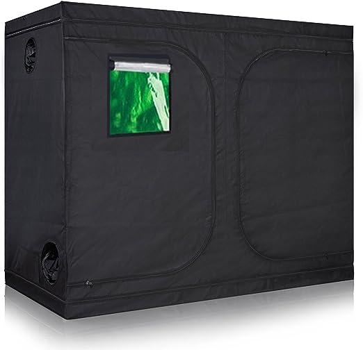 TopoLite 4x8 Indoor Grow Tent - Best For Window Design