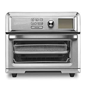 Cuisinart TOA-65 AirFryer toaster oven .6 cu ft Silver