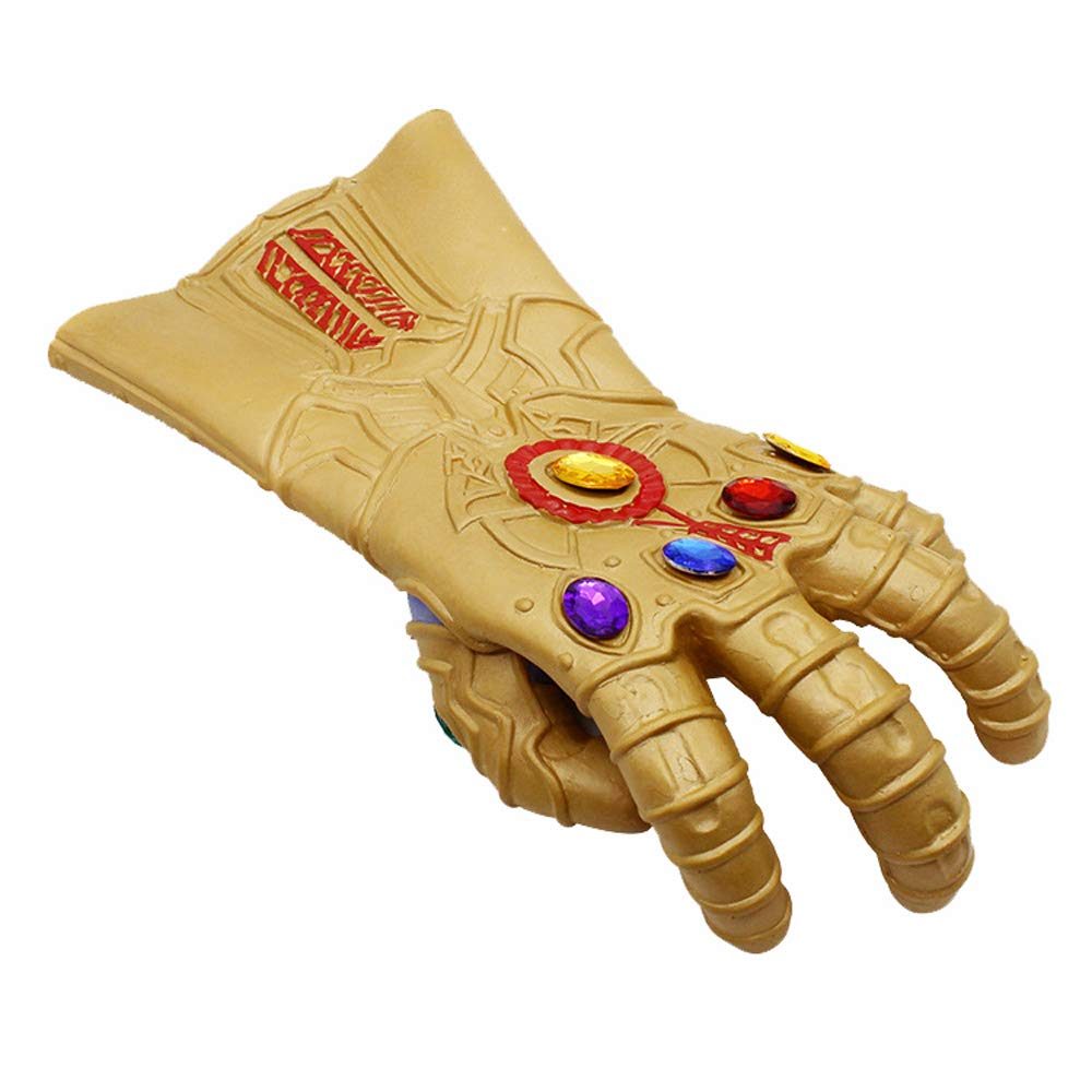 Havitar Halloween Party Cosplay Prom Props Avengers Thanos Mask Gloves
