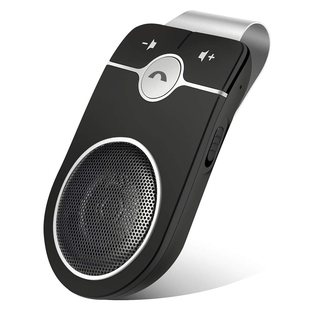 Ants-Store - Car Electronics Bluetooth Car Kit Wireless Speakerphone Connect 2 Phones Simultaneously Hands-free Multi-languages Playing Music
