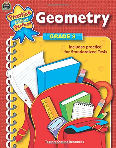 Geometry, Grade 3 (Practice Makes Perfect series)