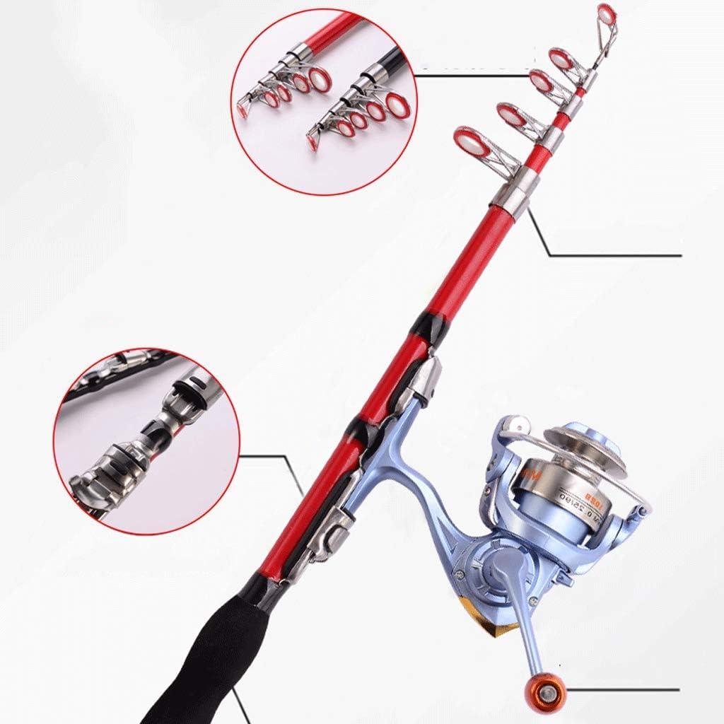 Color : Multi-Colored, Gr/ö/ße : 1 tragbare Taschenangelrute einziehbarer Stift Angelrute Ultra-Kurze Angelrute Winterfischen Hagel