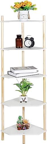 Best modern bookcase: Tiita Corner Table Shelf