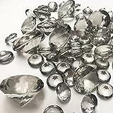 Koyal Wholesale Centerpiece Vase Filler Acrylic Diamonds, Gray