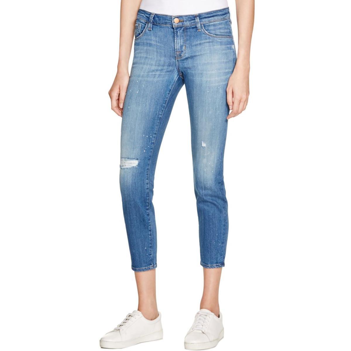 J Brand Jeans Women's 835 Mid-Rise Capri Collision Jeans (29, COLLISION) by J Brand Jeans