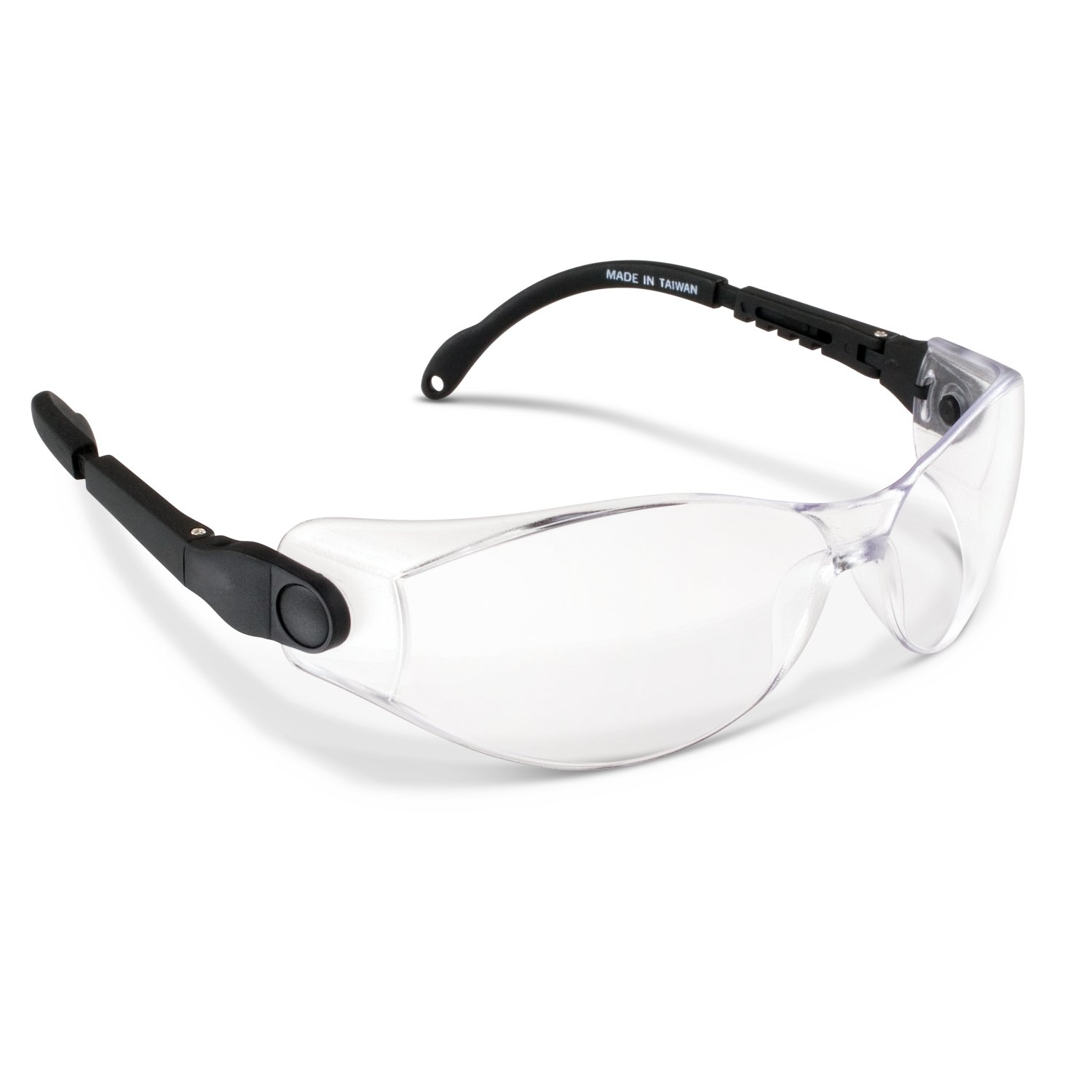 Practicon 7039712 CLE Fit-All Safety Glasses, Clear (Pack of 3)