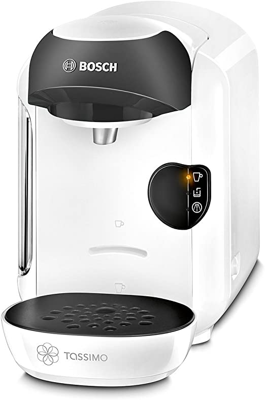 Tassimo By Bosch T12 Vivy Coffee Hot Drinks And Hot Chocolate Tea Latte Cappuccino Machine White