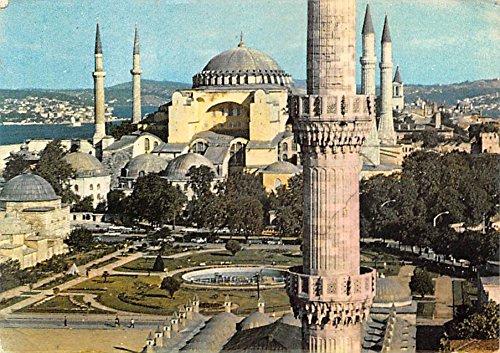 Aya Sofya, Hagia Sophia Mosque Iran Postcard