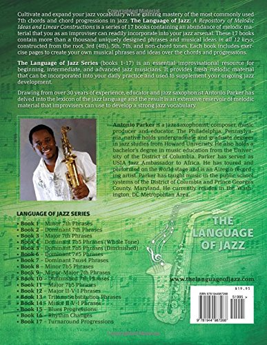 The Language Of Jazz - Book 10 Diminished 7th Phrases (New Edition): Diminished 7th Phrases (The Language of Jazz Series) (Volume 10) by Jazzology Publications, LLC