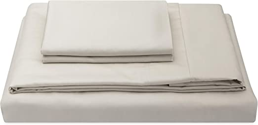 "NEW ~  SHEEX 4 PC QUEEN SHEET SET /"" BRIGHT WHITE/"" PERFORMANCE FABRIC SHEETS COOL"