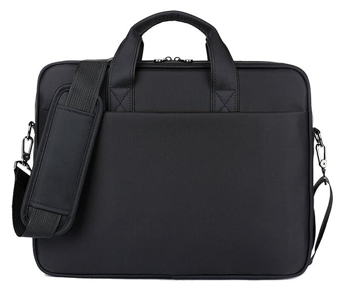 FBear 14 Inch Black Waterproof Shockproof Nylon Laptop Messenger Bag  Shoulder Bag fd2d92d94c4f