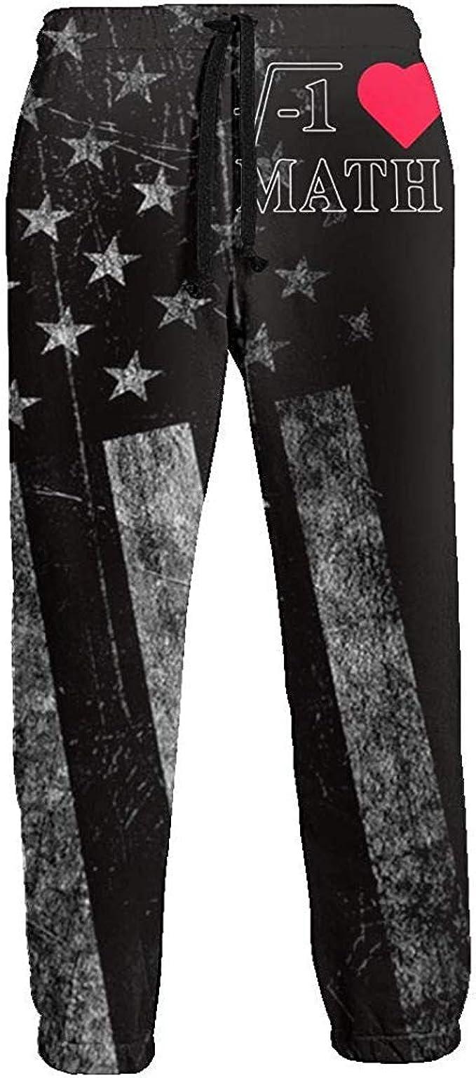 Love My Fashions/® Pantaloni da Uomo con Coulisse Polsino Elasticizzato Pantaloni da Jogging Pantaloni in Pile Tasche con Zip Chiudi Orlo Pantaloni Sportivi Casual