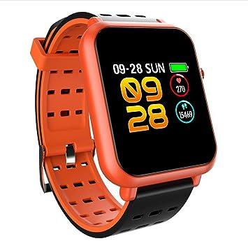 PINCHU Q8 Reloj Inteligente DE 1,2 Pulgadas De Presión Arterial Frecuencia Cardíaca Pulsera Inteligente