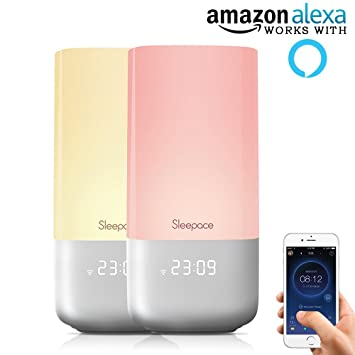 Sleepace Nox Smart Sleep System, Works with Amazon Alexa, Sleep Aid Night  Light w' Sound