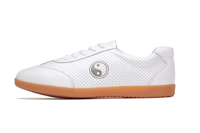 97e53c1da ICNBUYS Women's Breathable Leather Kung Fu Tai Chi Shoes for Summer White:  Amazon.co.uk: Shoes & Bags