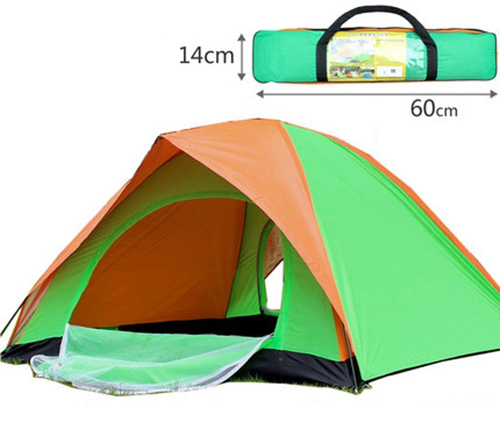 Jiangu, Outdoor Zelt, manuelle Zelt im Feld, Camping in Familie Drive, Camping Zelt