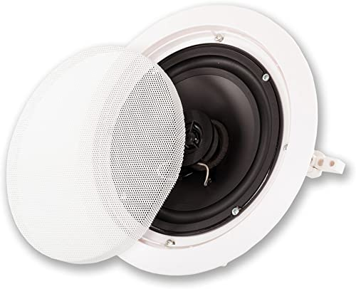 Acoustic Audio HT-65 in Wall in Ceiling 1250 Watt 6.5 Home Theater 5 Speaker System
