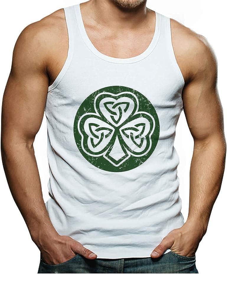 Celtic Clover Irish Shamrock Gift for St TeeStars Patricks Day Cool Singlet