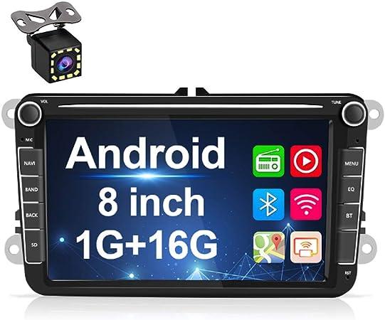Android Car Radio For Vw Gps Navigation 8 Capacitive Elektronik